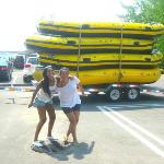Size of the rafting boat