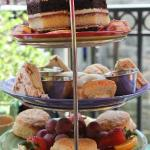 Delicious tier of tea party goodness!