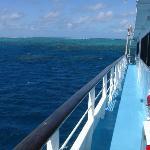 Portside off Saxon Reef