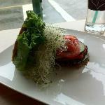 portobella mushroom burger