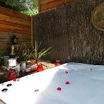 Grange outdoor Spa Bath