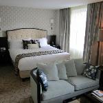 Lovely king bed