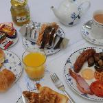 English breakfast option