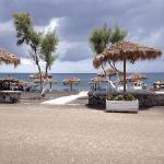 stranda sett fra hotellbaren