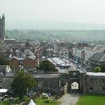 View of Ludlow town from the Castle