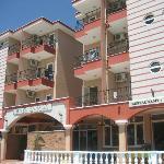 Utsidan av Hotellet