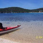 in kayak a tuerredda