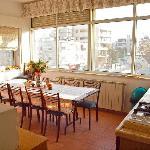 Our bright kitchen area