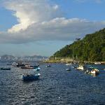 view of Bahia de Guanabara