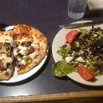 Pizza & Salad Combination