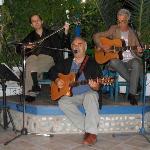Xronis and Mimis Panaretos plus Flourios with the buozcouki