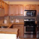 Upper suite kitchen