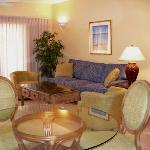 Upper suite - living area