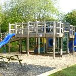 One of the children's play areas
