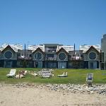 façade de l'hotel sur l'ocean