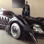 The Batmobile (it is an actual functioning car!)