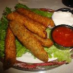 Deep Fried Dill Pickles Appetizer