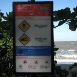 Strand mit vorsicht zu geniessen
