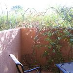 Sedona Suite - outside private patio