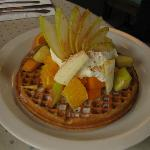 Oatmeal Waffle Delight
