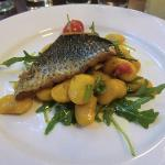 Mullet with Moroccan Butter Bean Salad