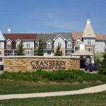 Front view of Cranberry Waterfront Suites