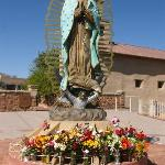 The shrine of our Lady of Guadalupe Santa Fe