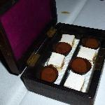 truffles and nougat