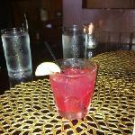 The Hibiscus Martini