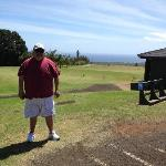The driving range at Kukiolono Golf Course