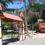 Plaza en el centro de Villa General Belgrano