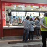 Queuing at McDonalds