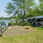 our lakefront campsite