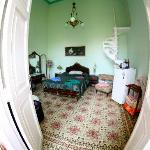 one of the immaculate bedrooms