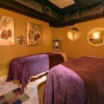 Couples Massage room, Breckenridge CO