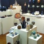 The Tea Table show at Scope Gallery in the Torpedo Factory.