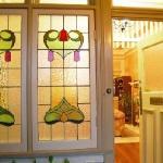 Milton Bed and Breakfast Lead light windows