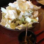 キャベツ食べ放題 柚子胡椒と。