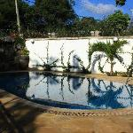 The Pool outside the restaurant