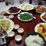 Eating well at Panda Inn