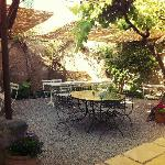 Cafe Parisien Garten
