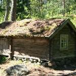 old houses on Seurasaari