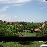 The Gardens taken from Hotel Bar
