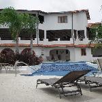 Hotel Restaurant taken from poolside