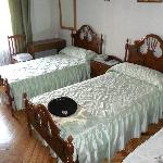 Las habitaciones son sencillas pero limpias.