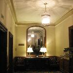 Mirror in Omni-Parker house where sightings have been reported.