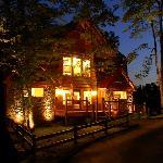 Night time in Parkside Resort