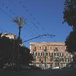 Ca del Sol's building from the Viale Regina Margherita