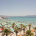 Cagliari's beach