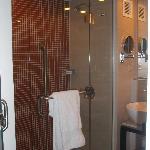 The spa like bathroom